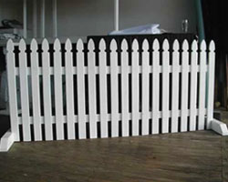 Free Standing Picket Fencing Picket Fencing